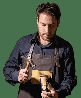 calzolaio online riparare scarpe borse orazio del vecchio mobile