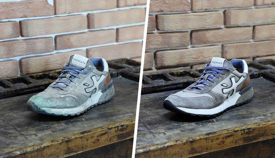 pulizia e lavaggio scarpe calzolaio online