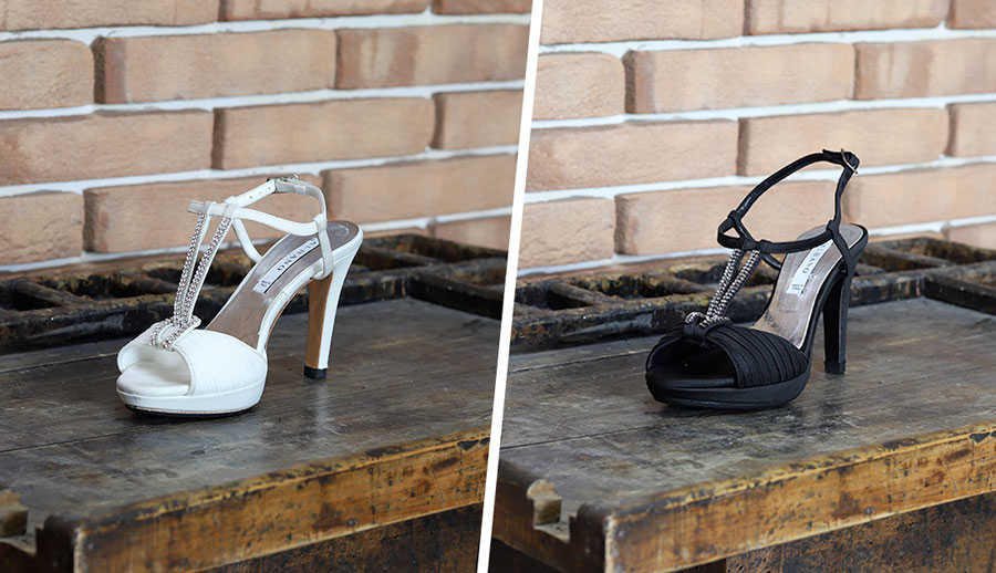 tintura scarpe cambio colore calzolaio online